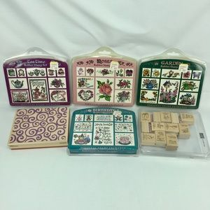Other - Rubber stamps lot mixed brands themes